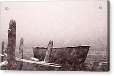 Gentle Current Acrylic Print by Bob Orsillo