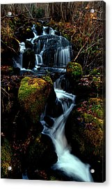 Acrylic Print featuring the photograph Gentle Descent by Jeremy Rhoades