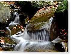 Gentle Falls Acrylic Print by Frozen in Time Fine Art Photography