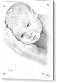 Gentle Innocence Acrylic Print by Patricia Hiltz