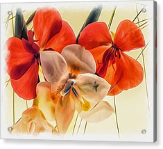 Gentle Montage Acrylic Print