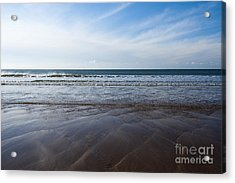 Gentle Waves Acrylic Print by Anne Gilbert