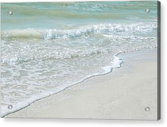 Gentle Waves Acrylic Print