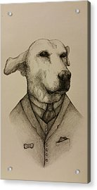 Gentleman Spanky Acrylic Print