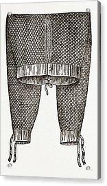 Gentlemans Drawers Acrylic Print