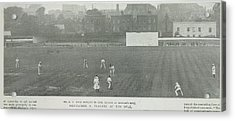 Gentlemen Versus Players At The Oval Acrylic Print by British Library