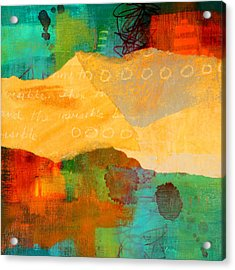 Geography Acrylic Print by Nancy Merkle