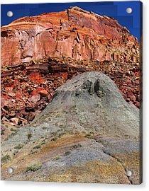 Geology Triptych - One Acrylic Print