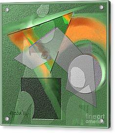 Geometrca 240 Acrylic Print by Nedunseralathan R