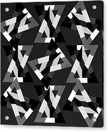 Geometric 12 Acrylic Print by Mark Ashkenazi