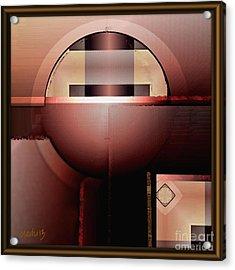 Geometric 191 Acrylic Print by Nedunseralathan R