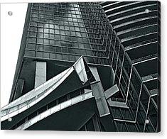 Acrylic Print featuring the photograph Geometric by Lorenzo Cassina