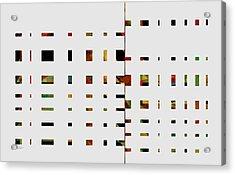 Geometrics -abstract -  Art Acrylic Print by Ann Powell