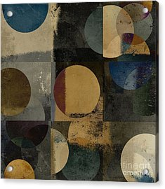 Geomix 01 - 111bt2a Acrylic Print by Variance Collections