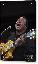 George Benson Sings Acrylic Print by Craig Lovell