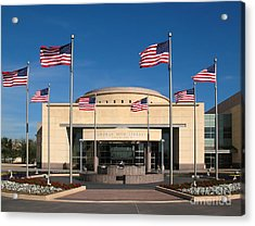 George Bush Presidential Library - College Station Texas Acrylic Print