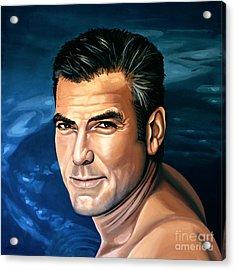 George Clooney 2 Acrylic Print