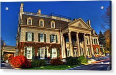 George Eastman House Hdr Acrylic Print by Tim Buisman