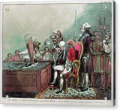 George IIi & Napoleon, 1804 Acrylic Print by Granger
