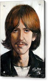 George Acrylic Print by Shelley Phillips