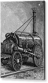 George Stephenson's 'rocket' Acrylic Print by Universal History Archive/uig
