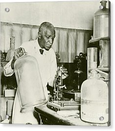 George W. Carver, Us Agriculturalist Acrylic Print by Schomburg Center For Research In Black Culture