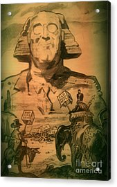 George Washington At His Best Acrylic Print