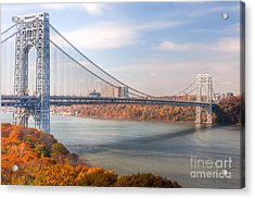 George Washington Bridge Acrylic Print