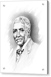 George Washington Carver Acrylic Print by Gordon Van Dusen