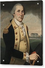 George Washington Acrylic Print by Charles Peale Polk