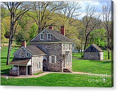 George Washington Headquarters At Valley Forge Acrylic Print