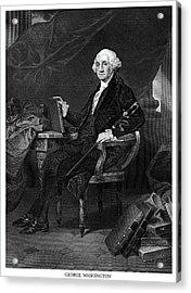 George Washington Acrylic Print by Historic Image