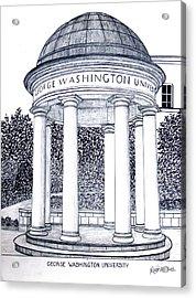 George Washington University Acrylic Print