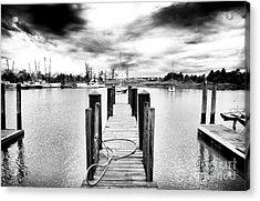 Georgetown Dock Acrylic Print by John Rizzuto
