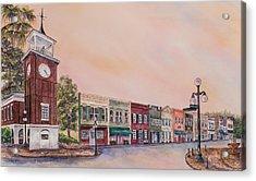 Georgetown Front Street Acrylic Print