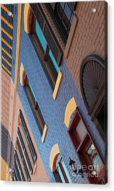 Georgetown Rowhomes Acrylic Print by Robert Diffenderfer