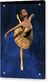 Georgia - Ballerina Portrait Acrylic Print by Andre Price
