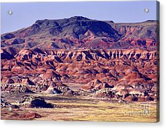 Georgia O'keefe Country - The Painted Desert Acrylic Print by Douglas Taylor