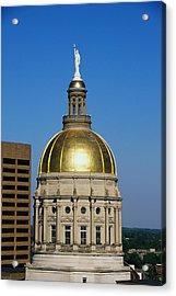 Georgia State Capitol Dome Atlanta Ga Acrylic Print