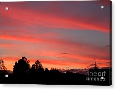 Georgia Sunset Acrylic Print