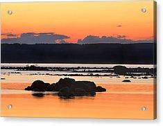 Georgian Bay Sunset-1 Acrylic Print