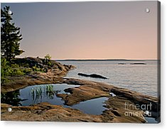 Georgian Bay Twilight Acrylic Print
