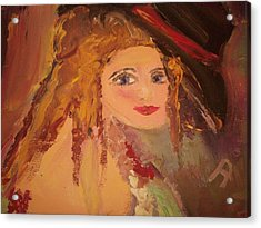 Georgiana Acrylic Print by Judith Desrosiers