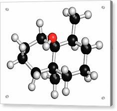 Geosmin Earthy Flavour Molecule Acrylic Print by Molekuul/science Photo Library