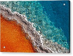 Geothermic Layers Acrylic Print