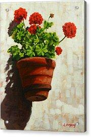 Geranium Delight Acrylic Print