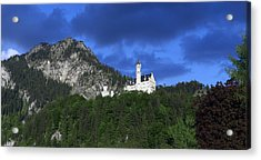 German Castle Acrylic Print by Hans Engbers