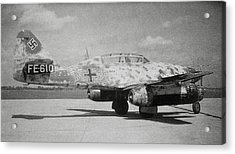 German Me 262 Wwii Jet Fighter Acrylic Print by Science Photo Library