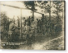 German Sw Africa Executions Acrylic Print by Underwood Archives