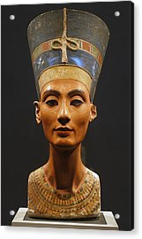 Germany. Berlin. Nefertiti Bust Acrylic Print by Everett